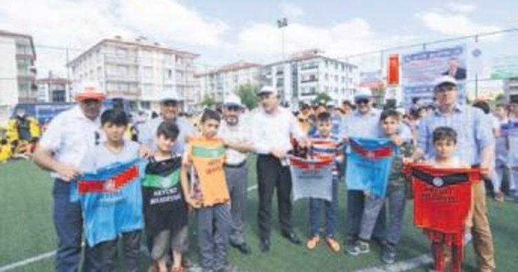 5'inci Camiden Sahaya Turnuvası Akyurt'ta