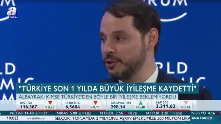 Bakan Albayrak: Türkiye son 1 yılda büyük iyileşme kaydetti